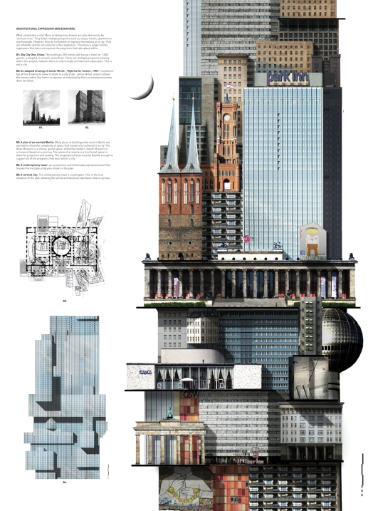 The Architectural Expression of a City.
